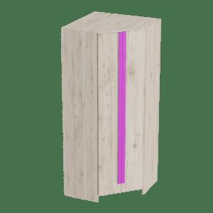 Скаут-Фуксия шкаф угловой