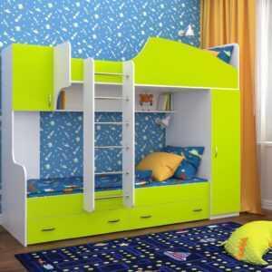 """Двухъярусная детская кровать """"Юниор-2"""""""