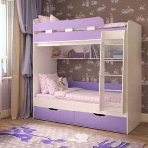 """Двухъярусная детская кровать """"Юниор-5"""""""