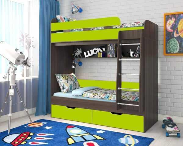 """yunior 5 bodego laym 1920x1536 1 600x480 - Двухъярусная детская кровать """"Юниор-5"""""""
