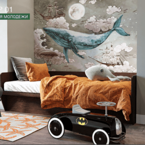 zefir1 300x300 - Зефир-1 Подростковая кровать