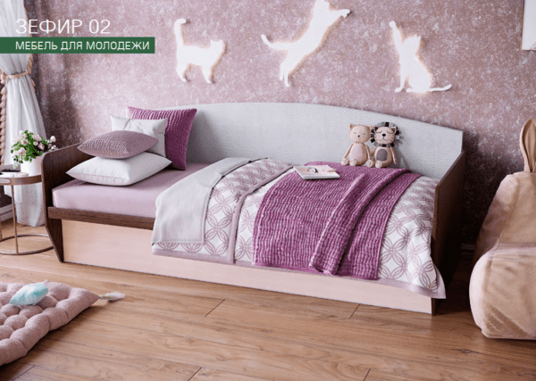 zefir2 600x427 - Зефир-2 Подростковая диван - кровать