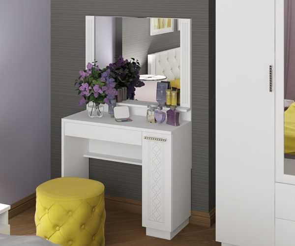 363 600x500 - Столик туалетный Тиффани М36