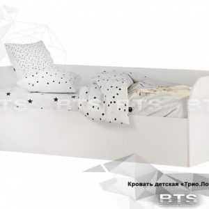 krovat detskaya 2 300x300 - Кровать детская ТРИО (белая)