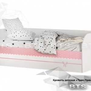 krovat detskaya 300x300 - Кровать детская ТРИО Принцесса с подъемным механизмом