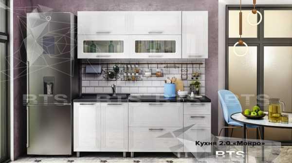 """monro vod znk 600x335 - Кухня """"Монро"""" 2,0 м"""