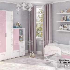princzessa 1 300x300 - Кровать детская ТРИО Принцесса с подъемным механизмом