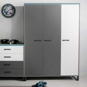 Carbon Ш3 шкаф трехстворчатый