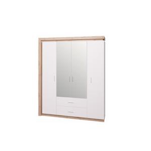 Люмен 16 шкаф четырехдверный с зеркалом