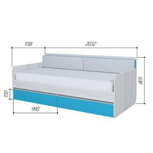 БРИЗ 900.4 Кровать-тахта