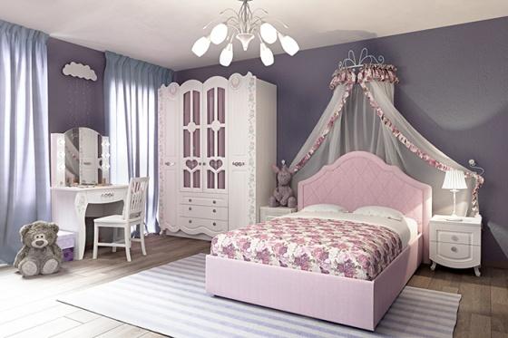 rozalya viza 7 700 - Кровать Розалия 120*200 для девочки подростка