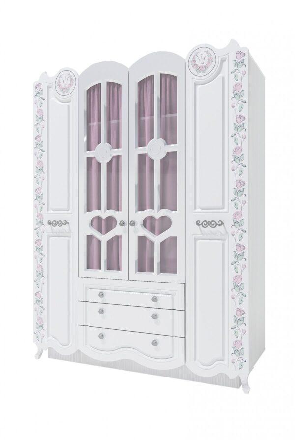 РОЗАЛИЯ 24» Шкаф 4-х дверный