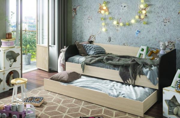 Балли кровать с дополнительным спальным местом