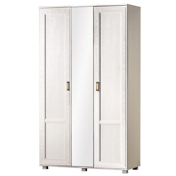 БЕЛЛА 240 Шкаф 3-дверный (белый/ясень белый)