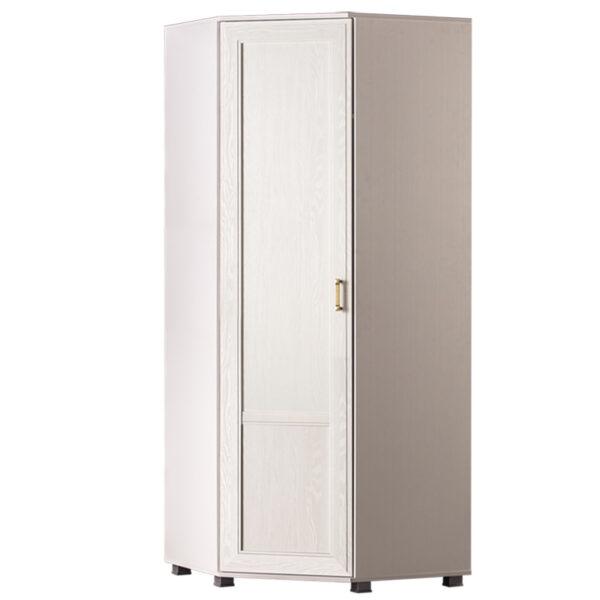 243 600x600 - БЕЛЛА 243 Шкаф угловой  (белый/ясень белый)