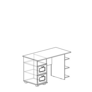 245 5d709e7ee0cae 300x300 - БЕЛЛА 245 Стол письменный (белый/ясень белый)
