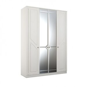 24 cdspqtlaevom 400 300x300 - АЗАЛИЯ 24 шкаф  4-х дверный с зеркалом