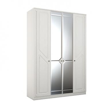 24 cdspqtlaevom 400 - АЗАЛИЯ 24 шкаф  4-х дверный с зеркалом