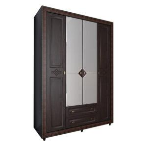 Калипсо 24 шкаф 4-х створчатый