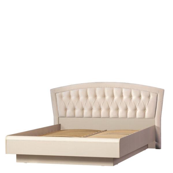АФИНЫ 366 Кровать двойная 160х200 см (кремовый белый)