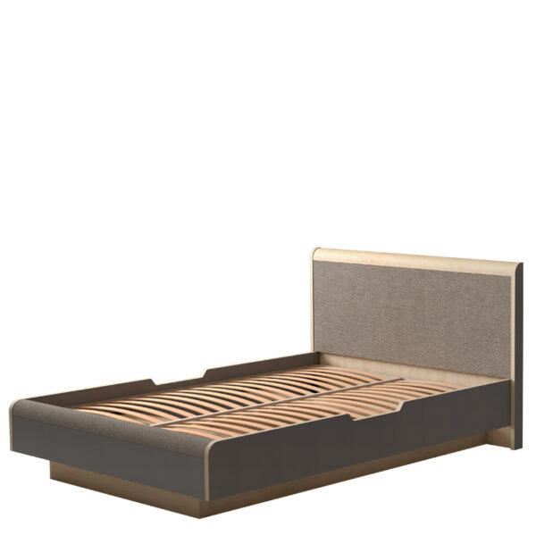 ДЖЕКСОН 879 Кровать 140*200 (кобальт серый)