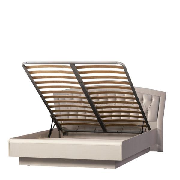 afiny 368 sayt 600x600 - АФИНЫ 368 Кровать двойная 160х200 см с подъемным механизмом (кремовый белый)