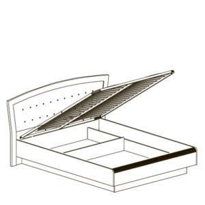 afiny 368 shema sayt 300x300 - АФИНЫ 368 Кровать двойная 160х200 см с подъемным механизмом (кремовый белый)