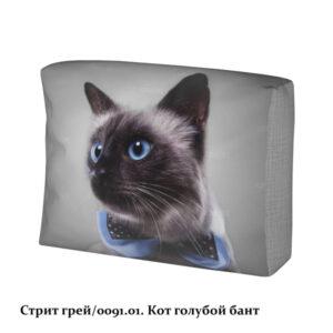 bpuribyhjk ewqabgge 0091.01. rdkodz ppkoxjdyzxqizp qiaueqvg 300x300 - Стрит грей/кот голубой бант чехол подушки