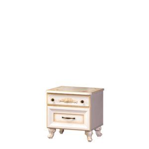 ЭЛЛИ 579 Тумба прикроватная (кремовый белый)