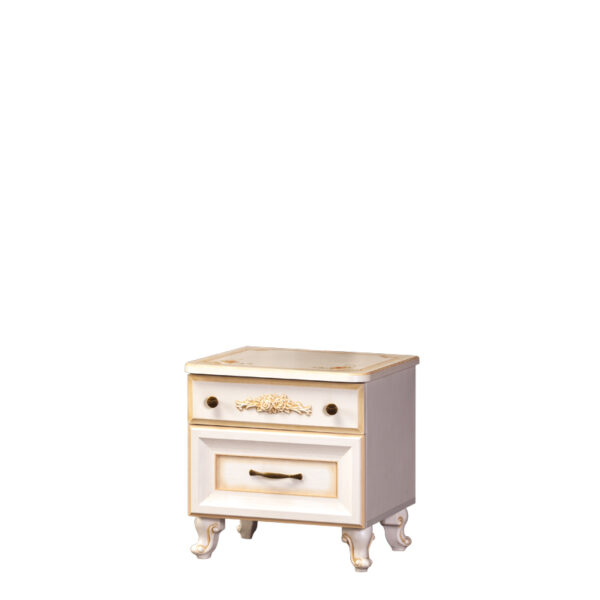 elli 579 600x600 - ЭЛЛИ 579 Тумба прикроватная (кремовый белый)