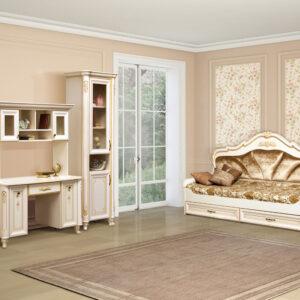 ЭЛЛИ 571 Шкаф 2-х дверный (кремовый белый)