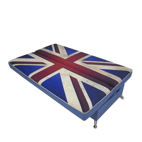 "hit flag kashemir blue 6 - Диван ""Хит"" (Флаг Британии)"