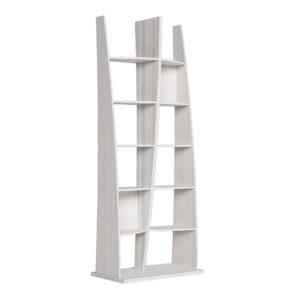 Макао 2 стеллаж-перегородка лиственница белая