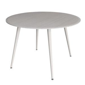 praga3 bel 600 300x300 - Прага 3 стол обеденный белый