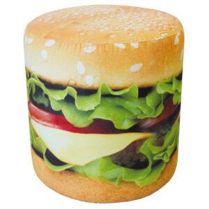 puf s printom gamburger ishodnik 600 300x300 - Пуф Гамбургер