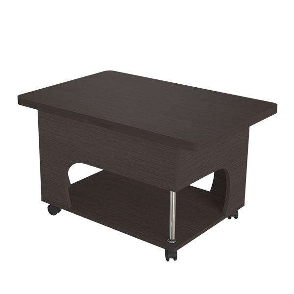 rubin1 slozh venge2 - Рубин 1 стол журнальный раскладной