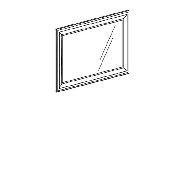 shema 365 600x600 - АФИНЫ 365 Зеркало (кремовый белый)