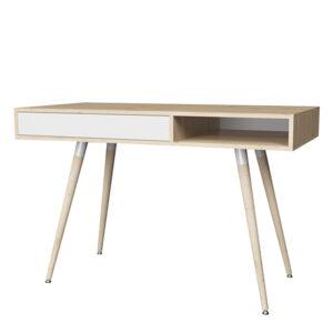 Смарт 1 стол (дуб ирландский/ белый)