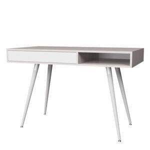 Смарт 1 стол (ясень анкор/ белый)