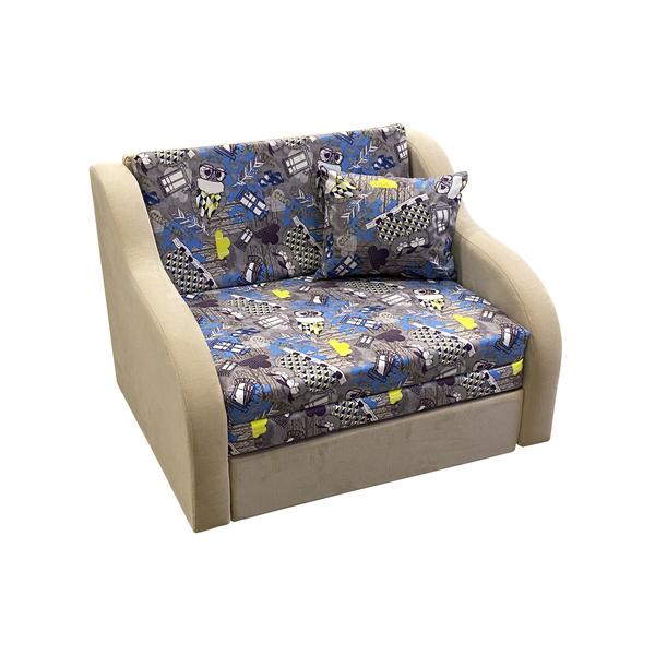 """Детский диван """"Юниор 1.1"""" (Филин Деним\Витал Сэнд)"""