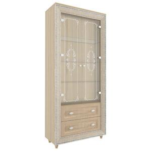 Калипсо 2 шкаф комбинированный