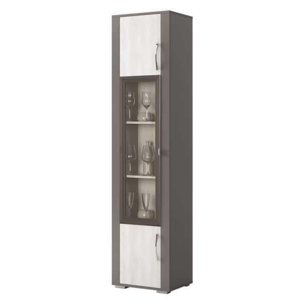 103 latte 600x600 - ЛАТТЕ 103 Шкаф 1-дверный для посуды(сосна каньон)