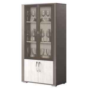 ЛАТТЕ 104 Шкаф 2-дверный для посуды (сосна каньон)