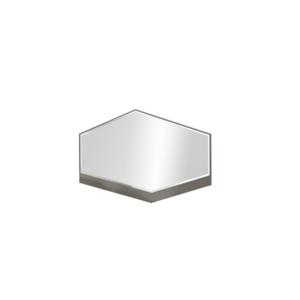 ДЕЛИ 76 Зеркало (дуб эндгрейн/антрацит)