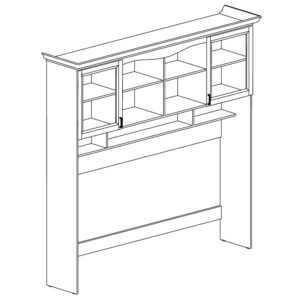 ПРОВАНС 405 Надставка кровати (Сосна белая)