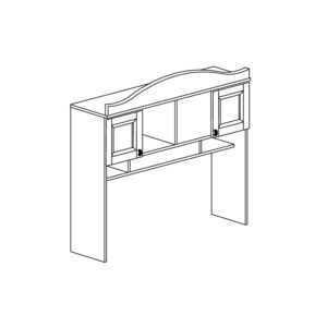 408 300x300 - ПРОВАНС 408 Надставка стола (Сосна белая)
