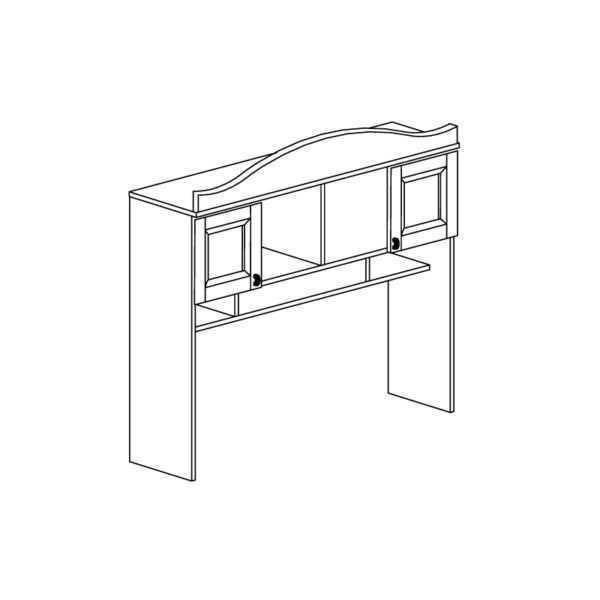408 600x600 - ПРОВАНС 408 Надставка стола (Сосна белая)
