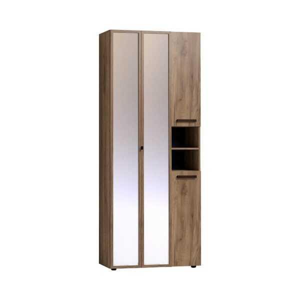 727ea801ac2a68f5dc7a7aa6e1b59420 600x600 - Nature 87 Шкаф для одежды и белья ФАСАД Зеркало Контур