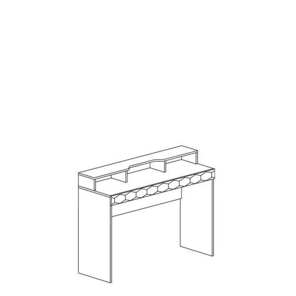74 shema 600x600 - ДЕЛИ 74 Стол туалетный (дуб эндгрейн/антрацит)