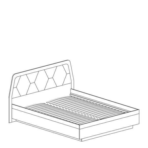 75 shema 600x600 - ДЕЛИ 75 Кровать двуспальная 1600 (дуб эндгрейн/антрацит)